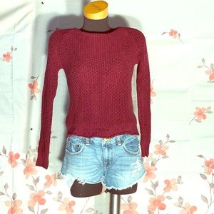🐞Brandy Melville🐞 maroon sweater